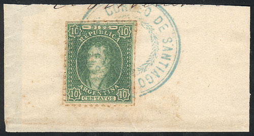 Lot 51 - Argentina rivadavias -  Guillermo Jalil - Philatino Auction # 2016 ARGENTINA: great auction with very interesting lots, low starts!