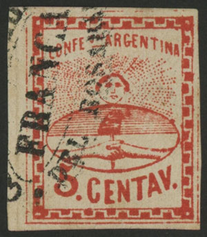 Lot 75 - Argentina confederation -  Guillermo Jalil - Philatino Auction # 2018 WORLDWIDE + ARGENTINA: Special auction for the quarantine