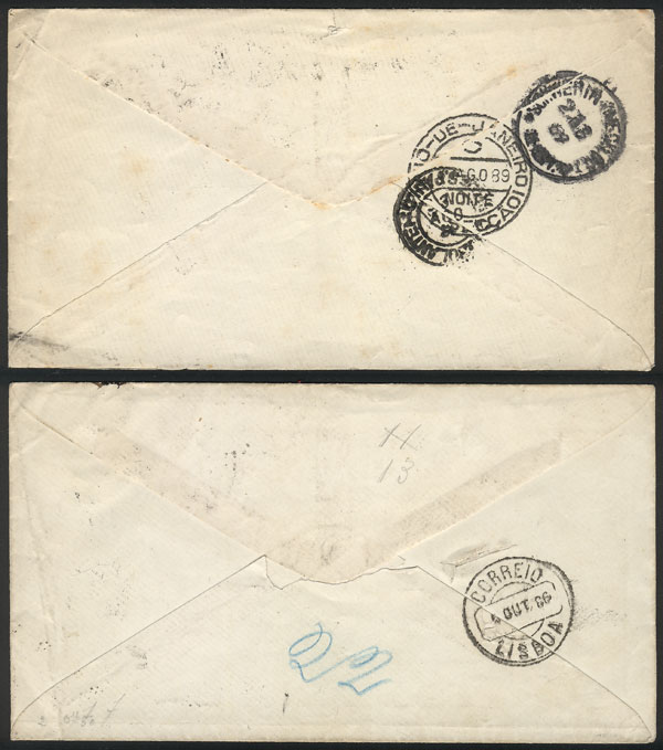 Lot 308 - brazil Postal stationery -  Guillermo Jalil - Philatino Auction # 2018 WORLDWIDE + ARGENTINA: Special auction for the quarantine