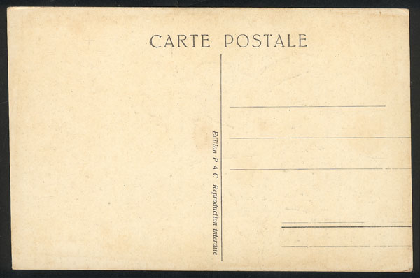 Lot 1003 - France postcards -  Guillermo Jalil - Philatino Auction # 2024 WORLDWIDE - ARGENTINA: Special June auction