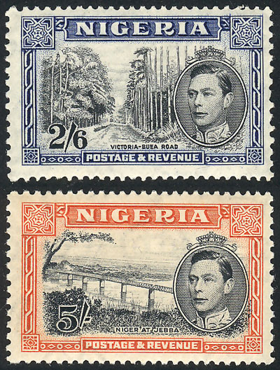 Lot 1214 - nigeria general issues -  Guillermo Jalil - Philatino Auction # 2024 WORLDWIDE - ARGENTINA: Special June auction