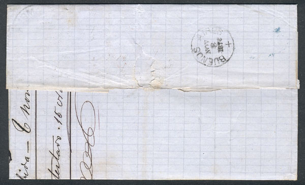 Lot 28 - germany postal history -  Guillermo Jalil - Philatino Auction # 2024 WORLDWIDE - ARGENTINA: Special June auction