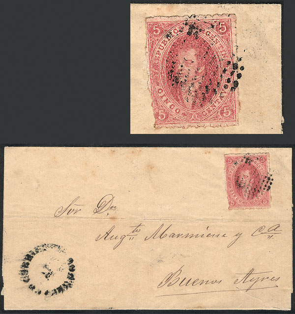 Lot 123 - Argentina rivadavias -  Guillermo Jalil - Philatino Auction # 2024 WORLDWIDE - ARGENTINA: Special June auction