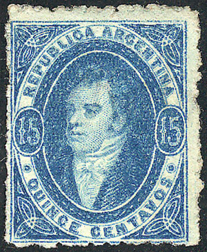 Lot 116 - Argentina rivadavias -  Guillermo Jalil - Philatino Auction # 2024 WORLDWIDE - ARGENTINA: Special June auction
