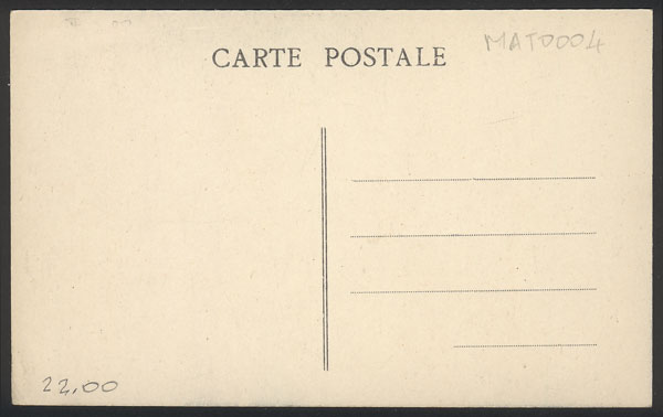Lot 1554 - martinique postcards -  Guillermo Jalil - Philatino Auction # 2022 WORLDWIDE + ARGENTINA: Postcards, autographs, brochures and more!