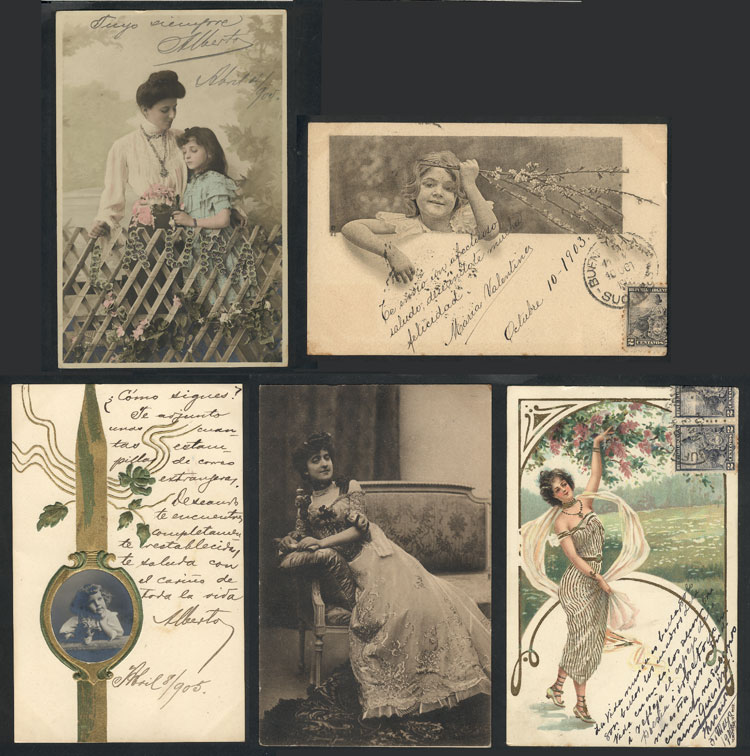 Lot 1812 - worldwide postcards -  Guillermo Jalil - Philatino Auction # 2022 WORLDWIDE + ARGENTINA: Postcards, autographs, brochures and more!