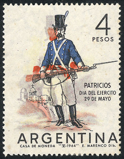 Lot 651 - Argentina general issues -  Guillermo Jalil - Philatino Auction # 2023 ARGENTINA: