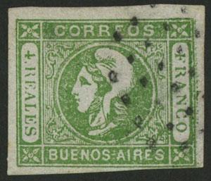 Lot 8 - Argentina cabecitas -  Guillermo Jalil - Philatino Auction # 2023 ARGENTINA:
