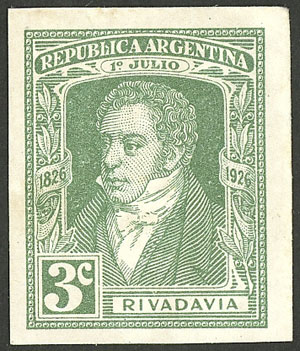 Lot 300 - Argentina general issues -  Guillermo Jalil - Philatino Auction # 2023 ARGENTINA:
