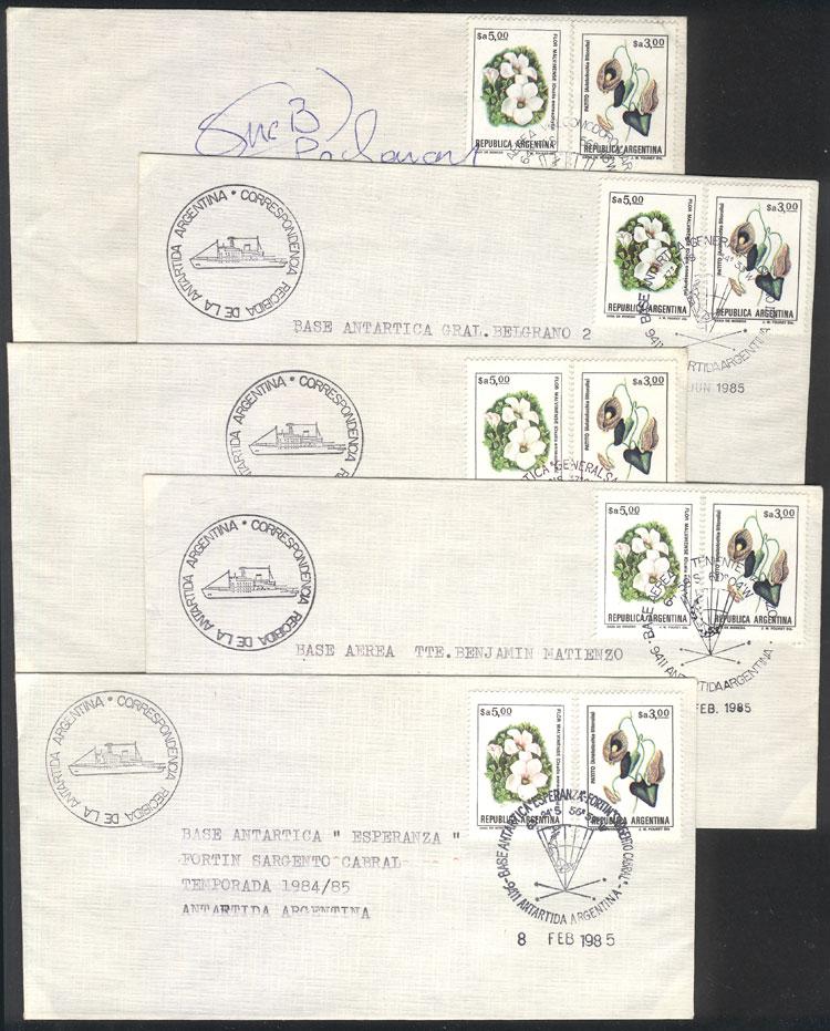 Lot 6 - argentine antarctica postal history -  Guillermo Jalil - Philatino Auction # 2023 ARGENTINA: