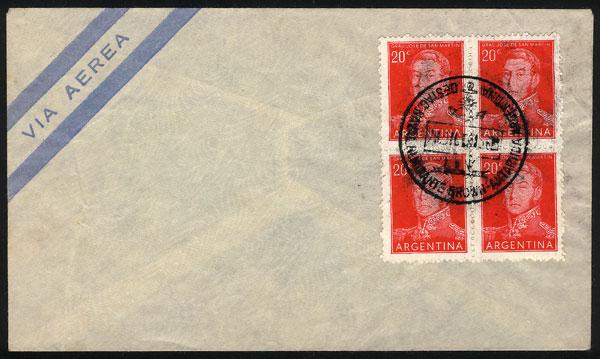 Lot 3 - argentine antarctica postal history -  Guillermo Jalil - Philatino Auction # 2023 ARGENTINA: