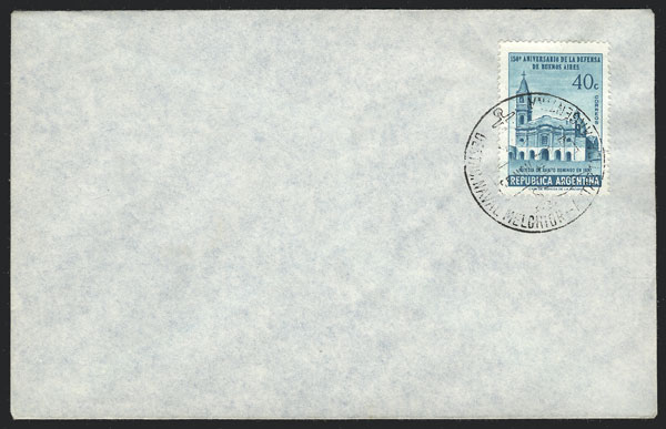 Lot 2 - argentine antarctica postal history -  Guillermo Jalil - Philatino Auction # 2023 ARGENTINA: