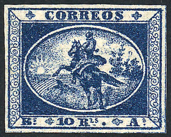 Lot 3 - Argentina gauchitos -  Guillermo Jalil - Philatino Auction # 2027 ARGENTINA: Special July auction
