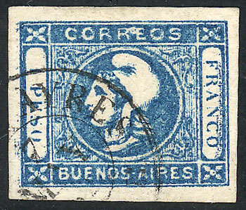 Lot 11 - Argentina cabecitas -  Guillermo Jalil - Philatino Auction # 2027 ARGENTINA: Special July auction