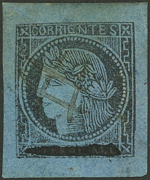Lot 16 - Argentina corrientes -  Guillermo Jalil - Philatino Auction # 2027 ARGENTINA: Special July auction