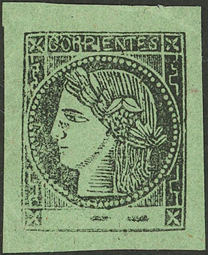 Lot 18 - Argentina corrientes -  Guillermo Jalil - Philatino Auction # 2027 ARGENTINA: Special July auction