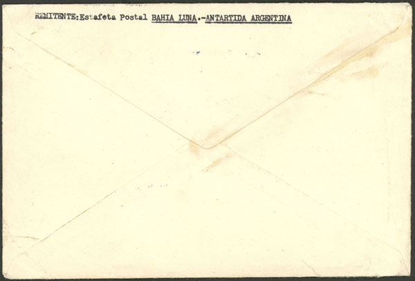 Lot 2 - argentine antarctica postal history -  Guillermo Jalil - Philatino Auction # 2027 ARGENTINA: Special July auction