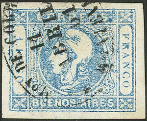 Lot 8 - Argentina cabecitas -  Guillermo Jalil - Philatino Auction # 2027 ARGENTINA: Special July auction