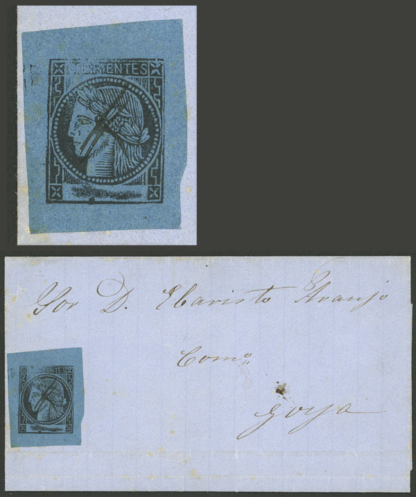 Lot 17 - Argentina corrientes -  Guillermo Jalil - Philatino Auction # 2027 ARGENTINA: Special July auction