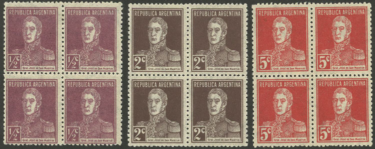 Lot 432 - Argentina general issues -  Guillermo Jalil - Philatino Auction # 2028 ARGENTINA: Auction with interesting lots at budget prices!