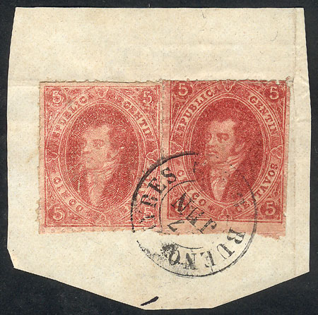 Lot 66 - Argentina rivadavias -  Guillermo Jalil - Philatino Auction # 2029 ARGENTINA: Selection of good lots