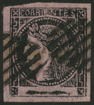 Lot 13 - Argentina corrientes -  Guillermo Jalil - Philatino Auction # 2029 ARGENTINA: Selection of good lots