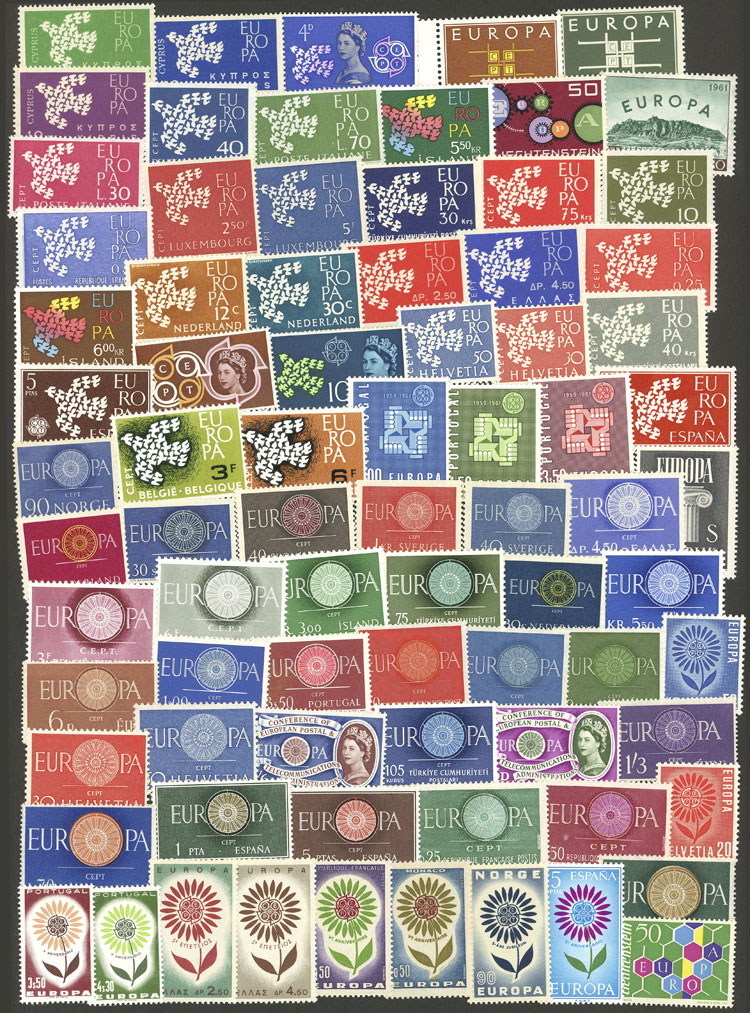 Lot 6 - topic europa Lots and Collections -  Guillermo Jalil - Philatino Auction # 2031 WORLDWIDE + ARGENTINA: General July auction