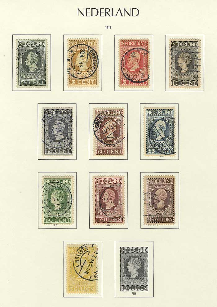 Lot 1093 - Netherlands Lots and Collections -  Guillermo Jalil - Philatino Auction # 2031 WORLDWIDE + ARGENTINA: General July auction