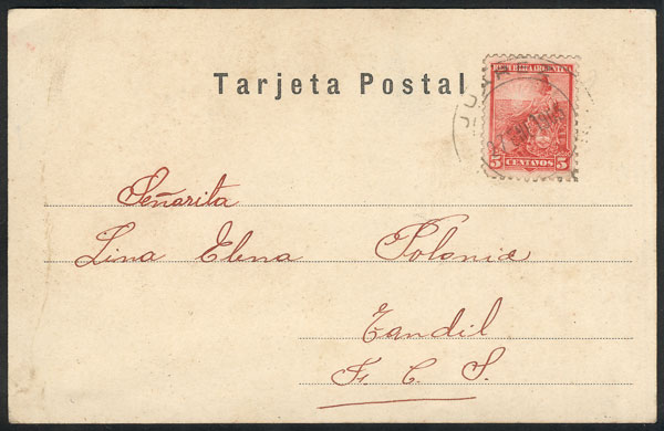 Lot 460 - Argentina postcards -  Guillermo Jalil - Philatino Auction # 2031 WORLDWIDE + ARGENTINA: General July auction