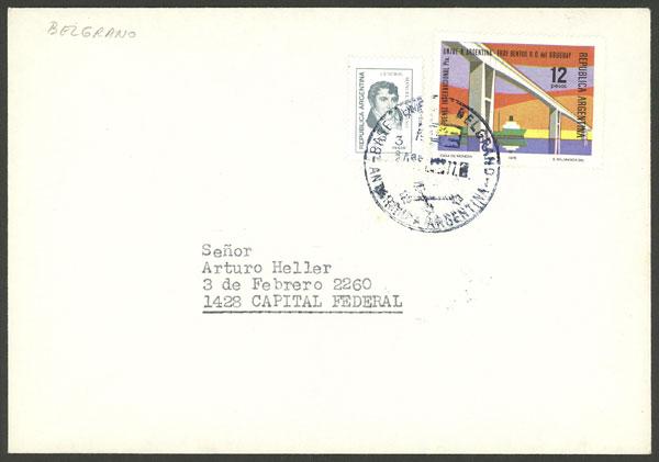 Lot 12 - argentine antarctica postal history -  Guillermo Jalil - Philatino Auction # 2032 ARGENTINA: