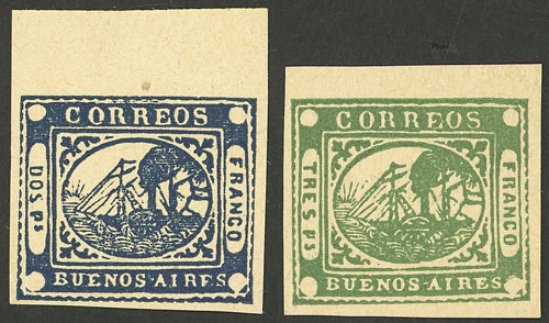 Lot 17 - Argentina buenos aires -  Guillermo Jalil - Philatino Auction # 2032 ARGENTINA: