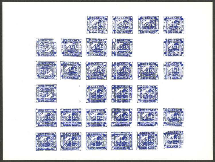Lot 18 - Argentina buenos aires -  Guillermo Jalil - Philatino Auction # 2032 ARGENTINA: