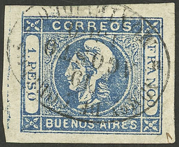 Lot 23 - Argentina buenos aires -  Guillermo Jalil - Philatino Auction # 2032 ARGENTINA: