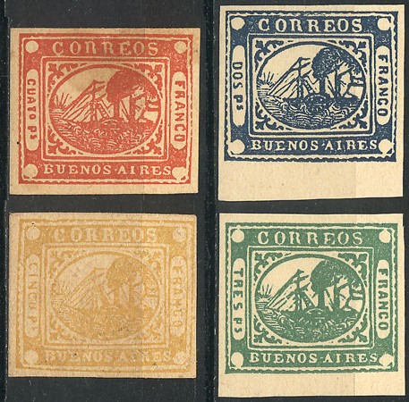 Lot 20 - Argentina buenos aires -  Guillermo Jalil - Philatino Auction # 2032 ARGENTINA: