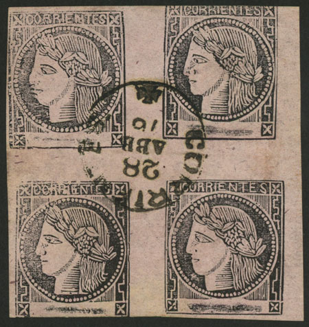 Lot 15 - Argentina corrientes -  Guillermo Jalil - Philatino Auction # 2033 ARGENTINA: Special August sale!