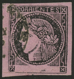 Lot 14 - Argentina corrientes -  Guillermo Jalil - Philatino Auction # 2033 ARGENTINA: Special August sale!