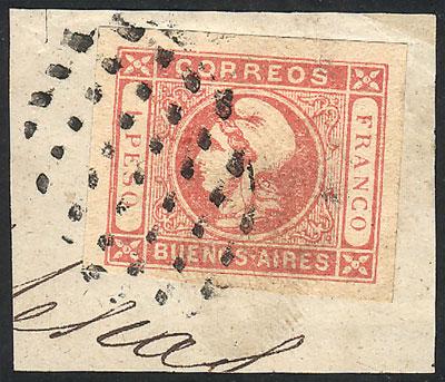 Lot 8 - Argentina cabecitas -  Guillermo Jalil - Philatino Auction # 2033 ARGENTINA: Special August sale!