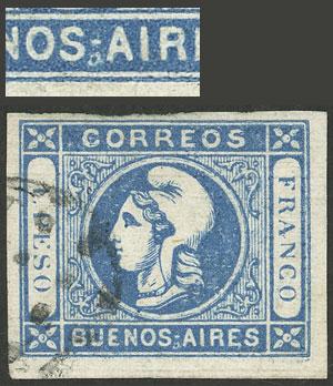 Lot 5 - Argentina cabecitas -  Guillermo Jalil - Philatino Auction # 2033 ARGENTINA: Special August sale!