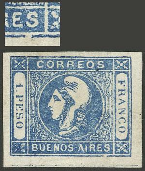 Lot 4 - Argentina cabecitas -  Guillermo Jalil - Philatino Auction # 2033 ARGENTINA: Special August sale!