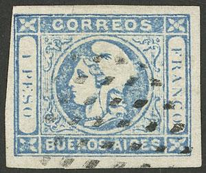 Lot 7 - Argentina cabecitas -  Guillermo Jalil - Philatino Auction # 2033 ARGENTINA: Special August sale!