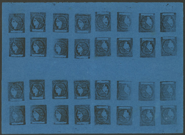 Lot 13 - Argentina corrientes -  Guillermo Jalil - Philatino Auction # 2034 ARGENTINA: small but very attractive auction