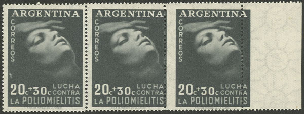 Lot 589 - Argentina general issues -  Guillermo Jalil - Philatino Auction # 2034 ARGENTINA: small but very attractive auction