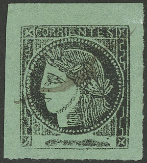 Lot 10 - Argentina corrientes -  Guillermo Jalil - Philatino Auction # 2034 ARGENTINA: small but very attractive auction