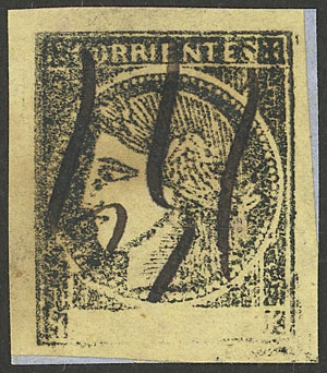Lot 11 - Argentina corrientes -  Guillermo Jalil - Philatino Auction # 2034 ARGENTINA: small but very attractive auction
