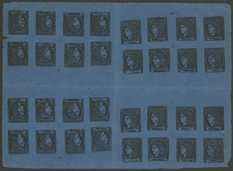 Lot 14 - Argentina corrientes -  Guillermo Jalil - Philatino Auction # 2034 ARGENTINA: small but very attractive auction