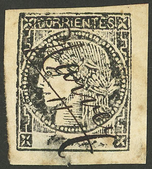 Lot 17 - Argentina corrientes -  Guillermo Jalil - Philatino Auction # 2034 ARGENTINA: small but very attractive auction