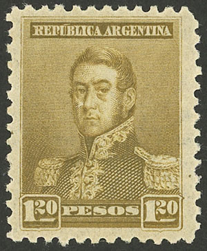 Lot 155 - Argentina general issues -  Guillermo Jalil - Philatino Auction # 2034 ARGENTINA: small but very attractive auction