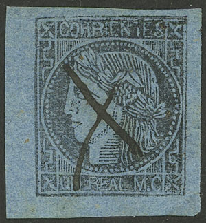 Lot 4 - Argentina corrientes -  Guillermo Jalil - Philatino Auction # 2034 ARGENTINA: small but very attractive auction