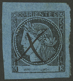 Lot 6 - Argentina corrientes -  Guillermo Jalil - Philatino Auction # 2034 ARGENTINA: small but very attractive auction