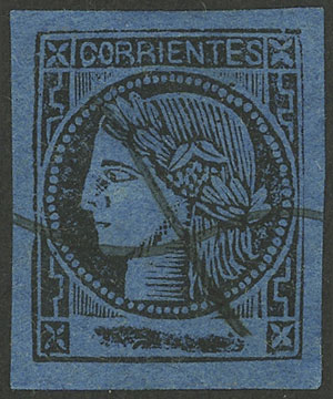 Lot 16 - Argentina corrientes -  Guillermo Jalil - Philatino Auction # 2034 ARGENTINA: small but very attractive auction
